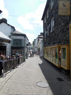 Bowness narrow street