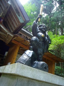 Daikokuten with sword